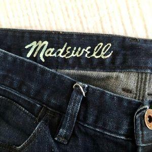 Madewell Skinny Skinny Ankle Jeans. Dark wash.